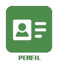 Icone com link para perfil de usuário